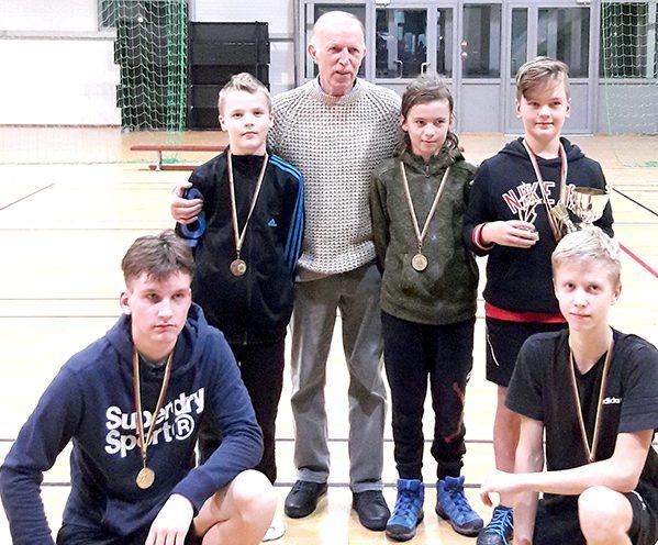 Badmintono treneris Jonas Šileris